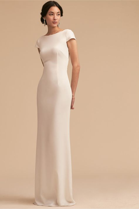 BHLDN Madison Dress Mulberry in Bridesmaids & Bridal Party