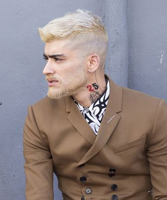 Zayn Malik Bleached His Hair Beard Blonde He S Practically