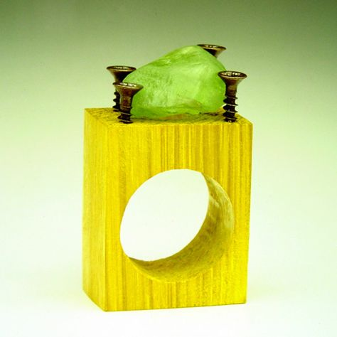 """""""Solitaire"""" ring, by Manuel Vilhena"""