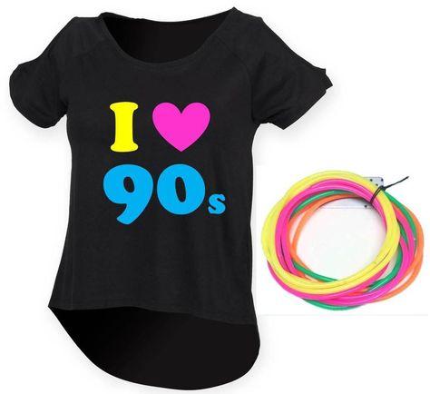 Top of the Pops pop graphique festival Rétro 80 s 90 s Funny Fancy Dress T Shirt