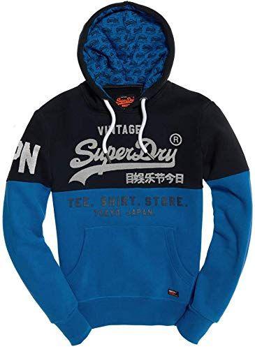 Enjoy Exclusive For Superdry Man Hoodie Sweat Shirt Store Panel Hood M20993nt S Blue Online Alltopratedseller In 2020 Cool Outfits For Men Mens Sweatshirts Hoodie Hoodies Men