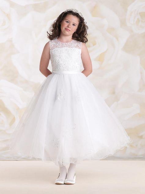 270699dabcf Joan Calabrese for Mon Cheri 115304 Flower Girls Dress - French Novelty
