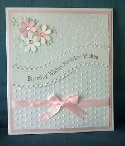 58 Ideas Baby Cards Handmade Easy Embossing Folder Baby Baby