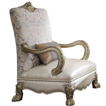 Berlinville Armchair Accent Chairs Armchair Nailhead Trim Accent Chair