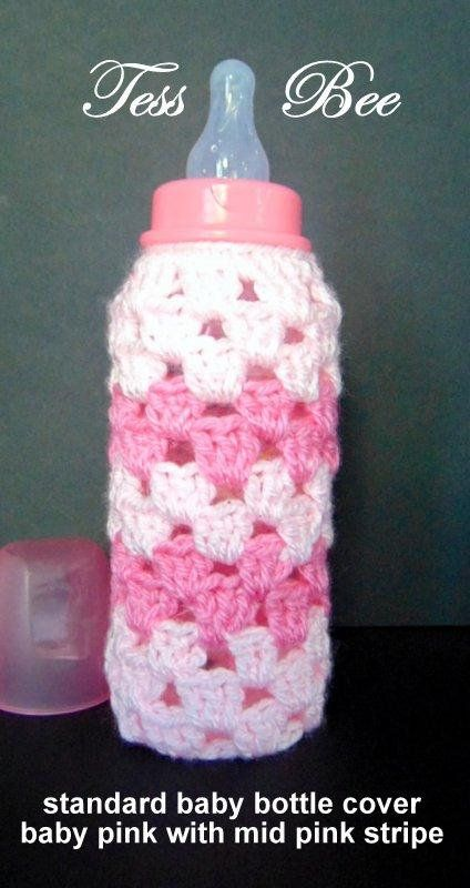 Dr brown MAM hand crochet baby bottle cover tommee tippee