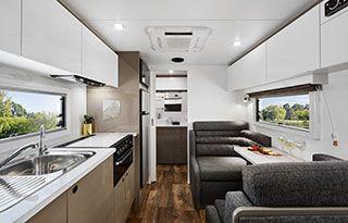 Lotus Caravans Tremor Chapman Caravans Caravans Contemporary Style Furniture House Styles