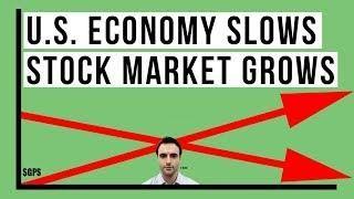 U S Economy Slowdown Continues As Fake Stock Market Near Record