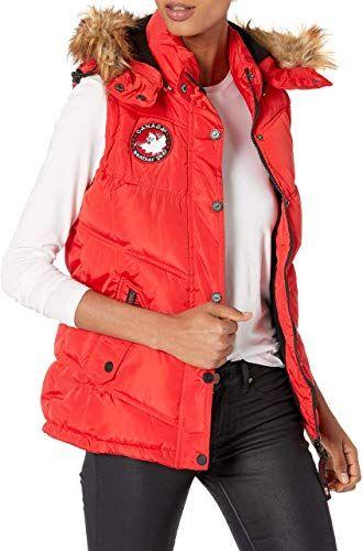 Best Seller Canada Weather Gear Women S Puffer Jacket Or Vest Online Totrendyhot In 2020 Puffer Jacket Women Fashion Clothes Women Women S Coats Jackets