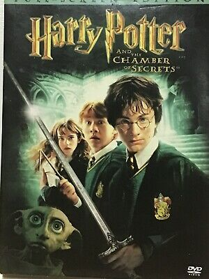Harry Potter And The Chamber Of Secrets Full Screen Edition Dvd No Scartch Chamber Of Secrets Harry Potter Full Movies