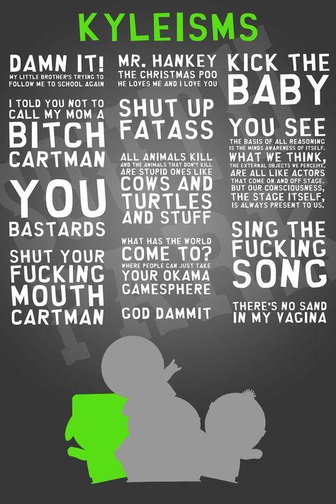 Kyleisms Poster - South Park by Skull-Guy on DeviantArt