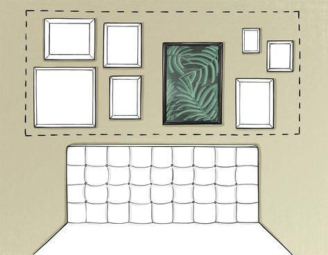 Un Truco Que Te Ayudará Como Decorar Con Cuadros Decoracion Paredes Cuadros Cuadros Para Dormitorios