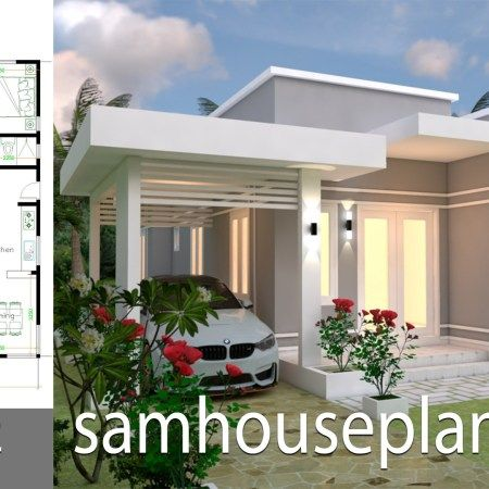 Home Design Plan 10x20 Meters Home Ideas House Design Home Design Plan Small House Design Plans