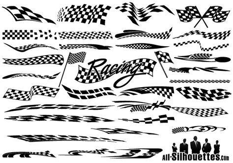 Free Vector Racing Flags Flag Vector Free Flag Tattoo