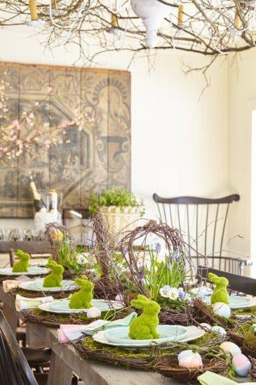 Photo of oster dekoration tisch