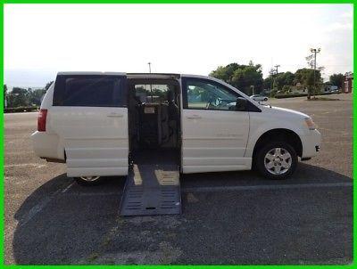 Ebay Advertisement 2010 Dodge Grand Caravan Se Van Wheelchair