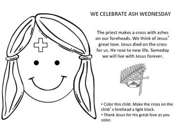 Ash Wednesday Lent Ash Wednesday Lent Ash On Forehead