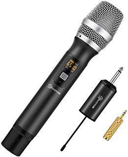 Eivotor Kabelloses Mikrofon Uhf Funkmikrofon Mit Empfanger