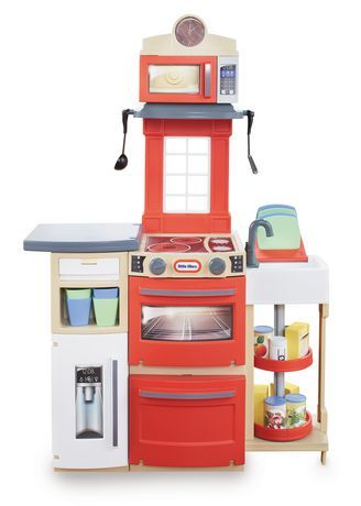 Little Tikes Cook N Store Kitchen Playset Red Toddler Play Kitchen Kids Play Kitchen Kids Play Kitchen Set