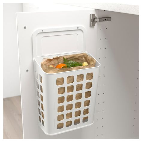 VARIERA Trash can - white | Idee ikea, Mensole cucina e Idee ...