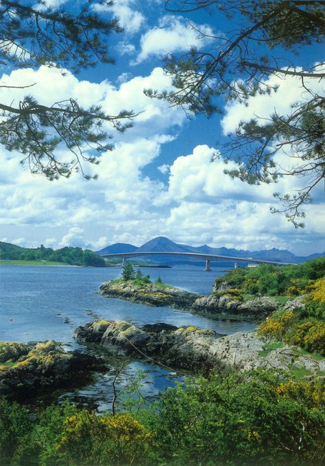 The road bridge to the Isle of Skye. Scotland