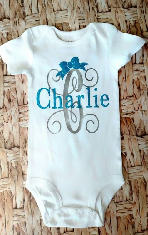 Personalised Name Baby Top Toddler T-shirt Cute Baby Clothes Kids Custom  B