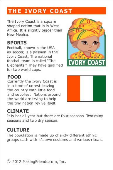 Facts About Ivory Coast Ivory Coast World Geography Teaching Geography