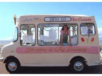 Cute Ice Cream Van Kel I Feel Like This Is What You Dreamed About When Were Little