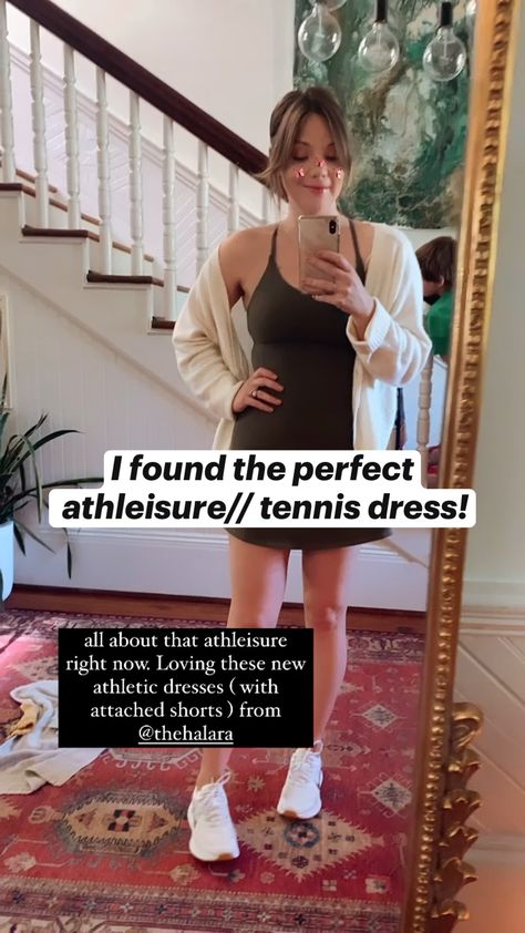 I found the perfect  athleisure// tennis dress!