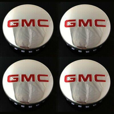 Advertisement Ebay 83mm Fit Gmc Glossy Center Caps 14 19 Sierra