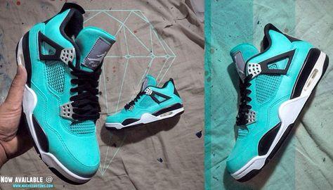 "cc1f60bf782b Air Jordan 4 ""Tiffany"""