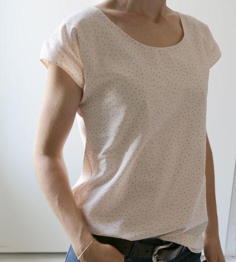 1 heure 1 fringue : robe ou blouse TOKYO   Atelier Scammit