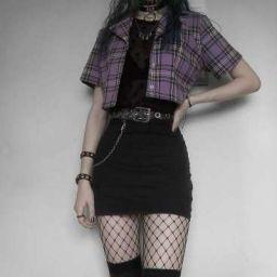 Una Chica En BTS 【ᴇᴅɪᴛᴀᴅᴀ?】 - Prólogo - Wattpad Adrette Outfits, Teen Fashion Outfits, Cute Casual Outfits, Retro Outfits, Batman Outfits, Polyvore Outfits, Cute Goth Outfits, Casual Goth, Pastel Goth Outfits