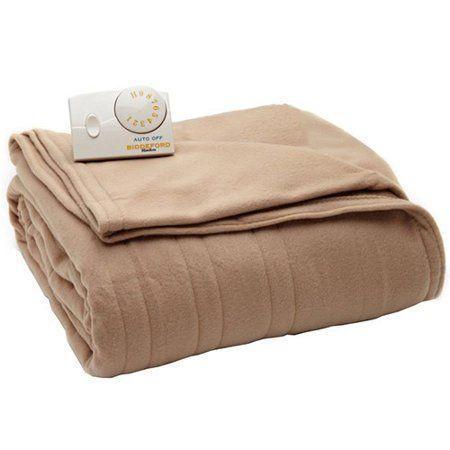 Biddeford Comfort Knit Fleece Heated Electric Blanket   Walmart