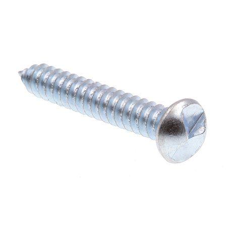Prime Line 9028098 Sheet Metal Screws One Way Round Head 14 X 1 1 2 In Zinc Plated Steel 75 Pack Sheet Metal Plating Metal