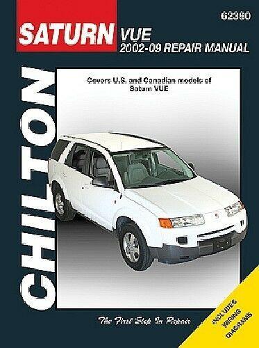 Advertisement Ebay Repair Manual Red Line Chilton 62390 Fits 07 09 Saturn Vue With Images Chilton Repair Manual Repair Manuals Pontiac Vibe