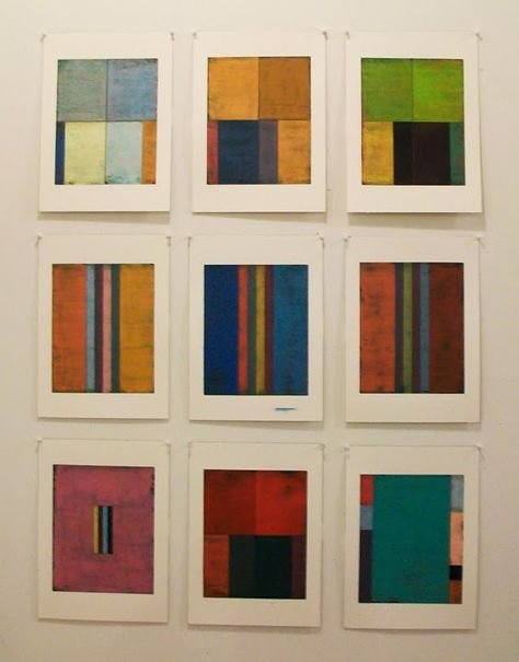 Steven Alexander is an American artist who makes abstract paintings characterized by luminous color, sensuous surfaces, and iconic geometric configurations. Collages, Collage Art, Modern Art, Contemporary Art, Creation Art, Josef Albers, Luminous Colours, Art Sculpture, Illustration