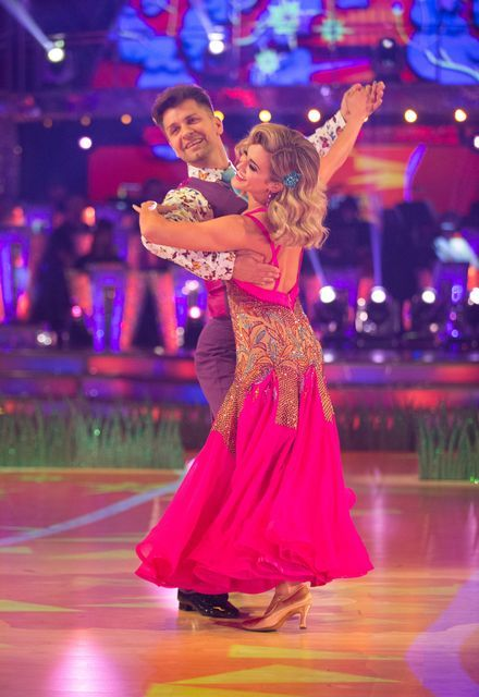Scd Week 7 2018 Ashley Roberts Pasha Kovalev Tolb Foxtrot Bbc Co Uk Strictly Come Dancing Foxtrot Dance Dance