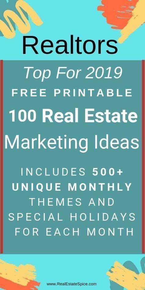 2020 E Guide 100 Lucrative Realtor Ideas Strategies Real