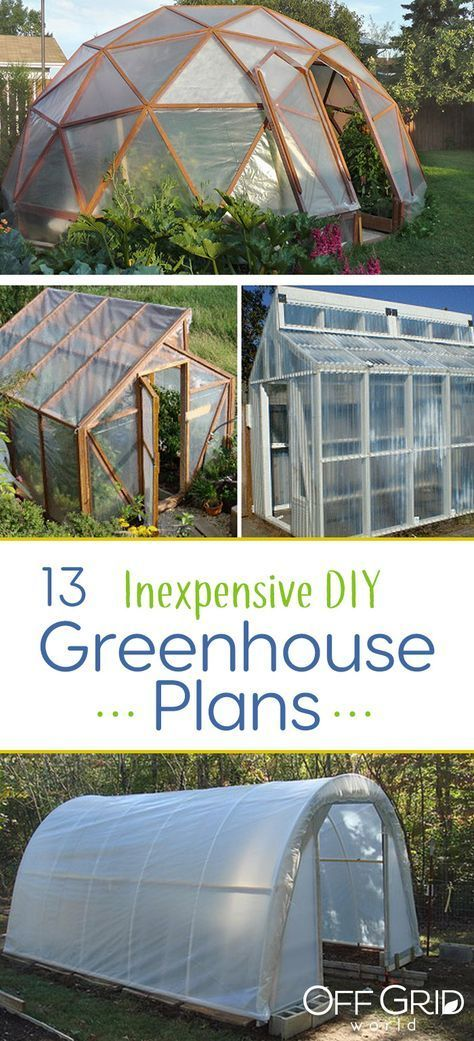 13 Cheap Diy Greenhouses With Plans Diy Greenhouse Plans Greenhouse Plans Build A Greenhouse