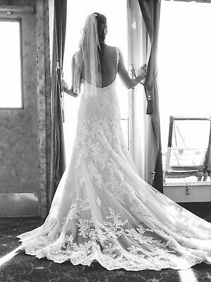 Ad Ebay Beautiful David Tutera Wedding Gown 1960 In 2020 David Tutera Wedding Gowns Ball Gowns Wedding Chiffon Wedding Gowns