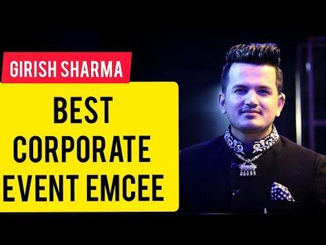 Best Corporate Emcee Girish Sharma Anchoring Vivo Royal Club Launch In Mumbai 91 9769964451 Youtube