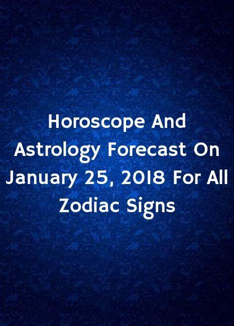 january 25 libra astrology