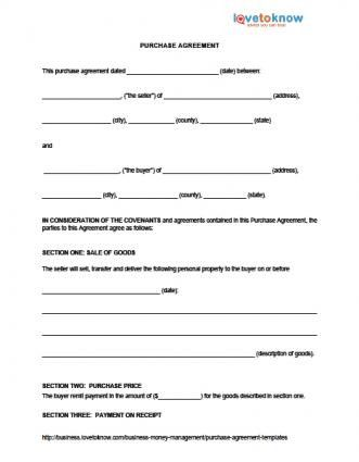Business Purchase Agreement Pdf Contract Template Purchase Agreement Rental Agreement Templates