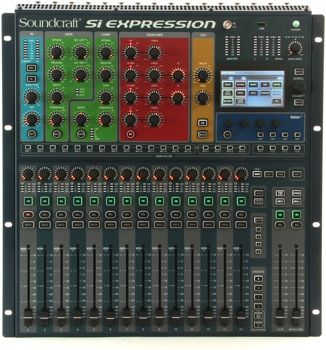 Soundcraft Si Expression 1 16 Channel Digital Mixer Digital Expressions Sennheiser