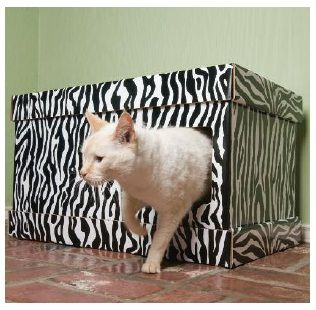 This Litter Box Cover Could Be Easy DIY