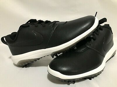 Ad Ebay Nike Roshe G Tour Ar5580 001 Black Summit White Men S Golf Shoes Size 10 In 2020 With Images Golf Shoes Mens