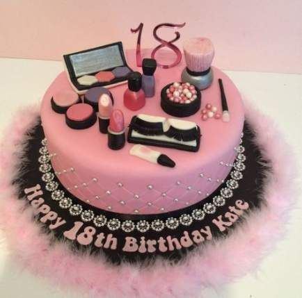 Best Makeup Party Cake Ideas Ideas Makeup Makeup Birthday Cakes