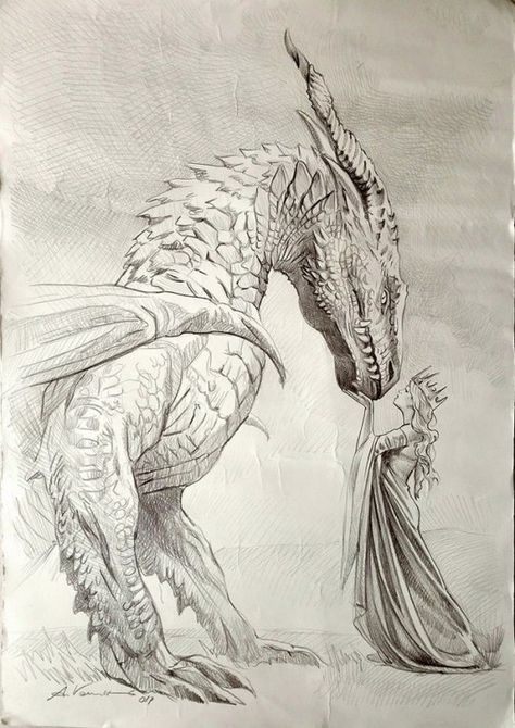 Visual Artist Painter Illustrator Disegni Drago Bellissimi