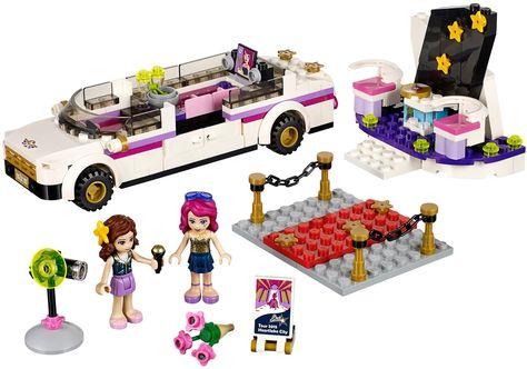Ga mee met Livi de popster in haar luxe Limo. Help jezelf aan een drankje uit de minibar terwijl je televisie kijkt. Kijk hoe Livi op de rode loper voor de camera poseert. De leukste LEGO koop je bij https://www.olgo.nl/lego/friends.html