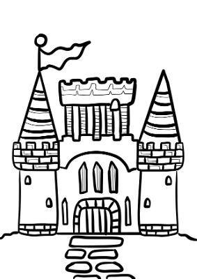 Immagini Castelli Da Colorare.Disegni Di Castelli Da Stampare E Colorare Gratis Portale Bambini Disegno Di Castello Disegni Castelli